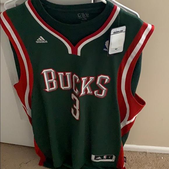 c634332d6be Brandon Jennings bucks jersey